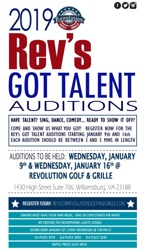 2019 Rev's Got Talent